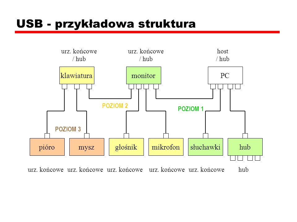 USB - przykładowa struktura