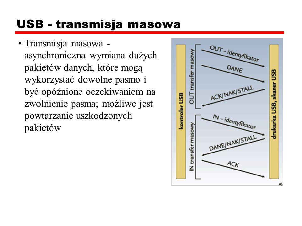 USB - transmisja masowa