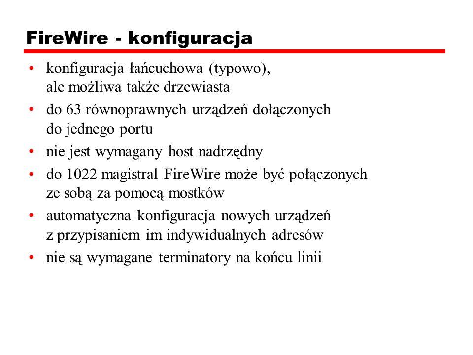 FireWire - konfiguracja