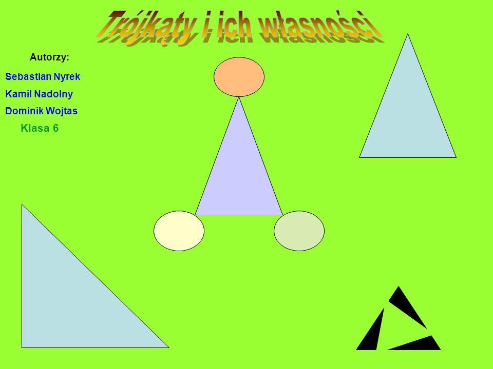 Trójkąty i ich własności