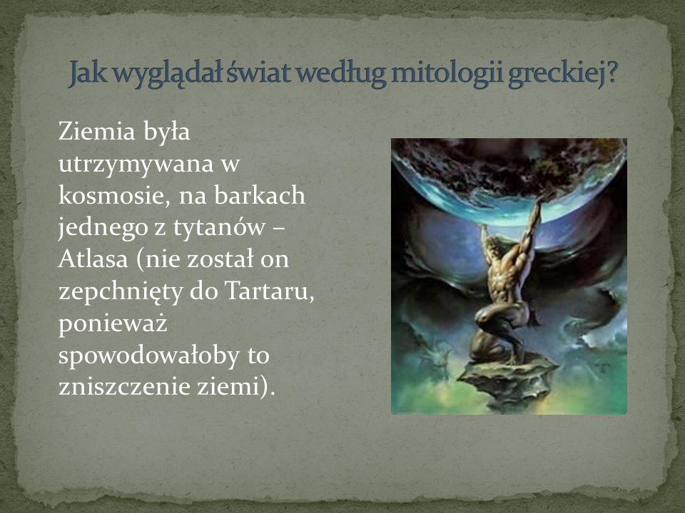 Jak wyglądał świat według mitologii greckiej
