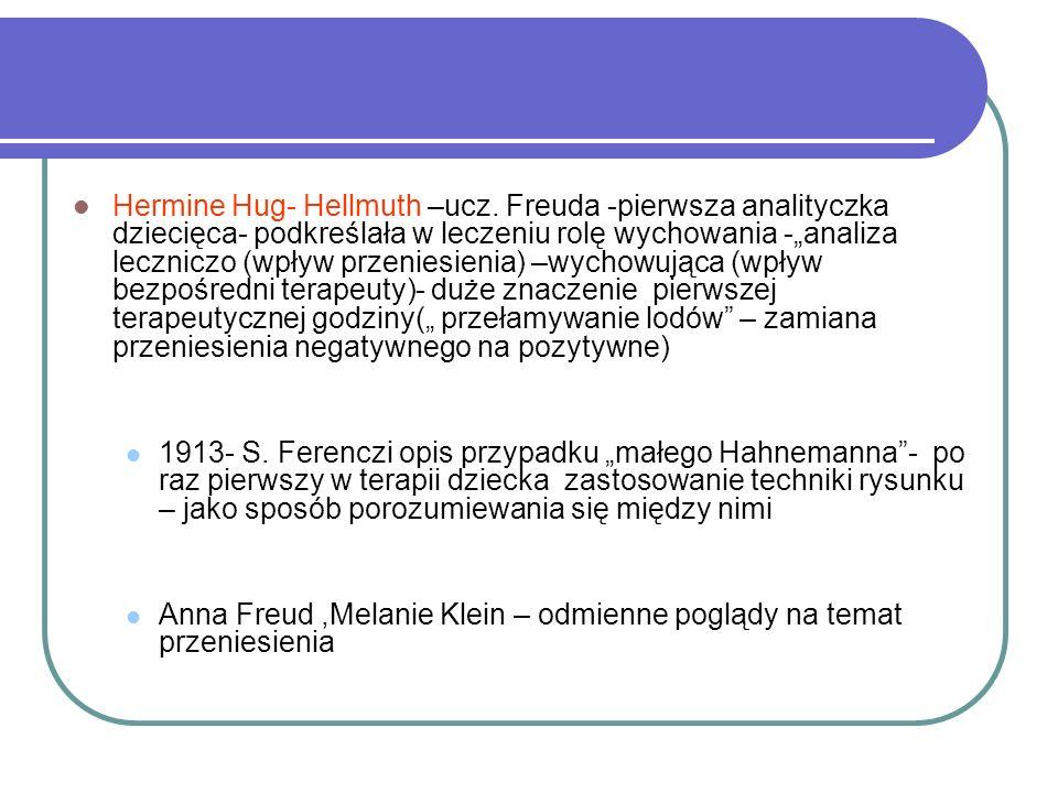 Hermine Hug- Hellmuth –ucz