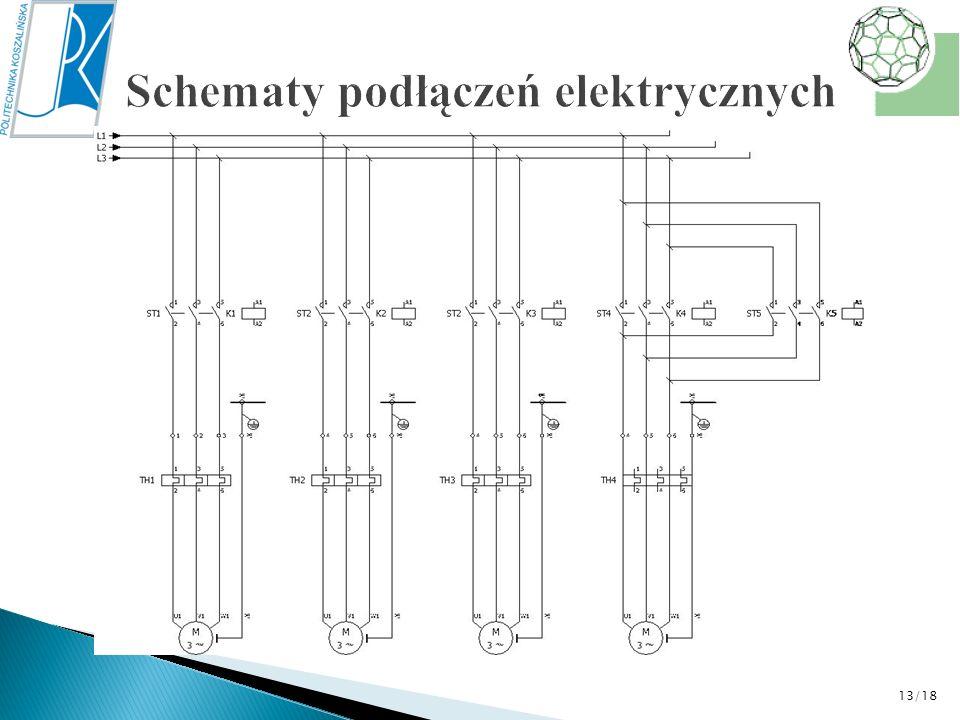 Schematy podłączeń elektrycznych
