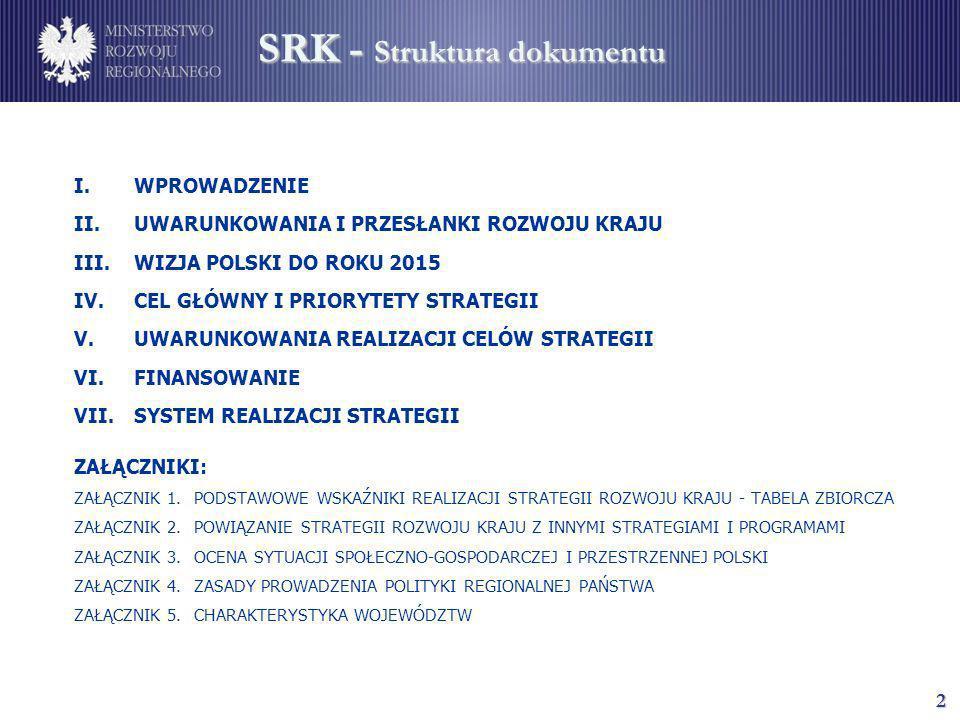 SRK - Struktura dokumentu