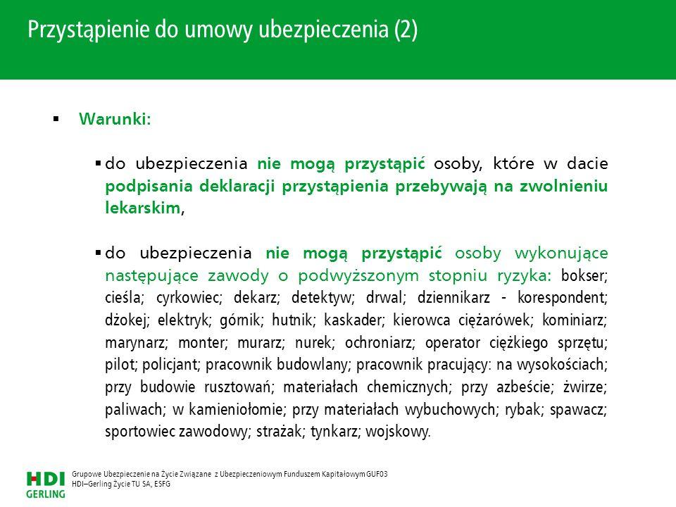 Przystąpienie do umowy ubezpieczenia (2)