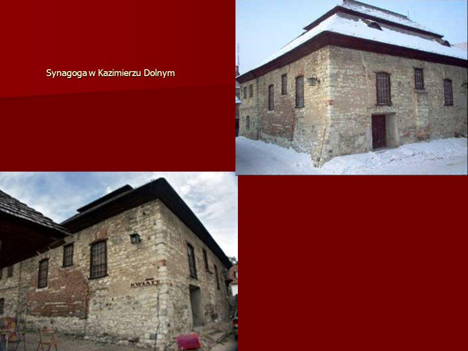 Synagoga w Kazimierzu Dolnym