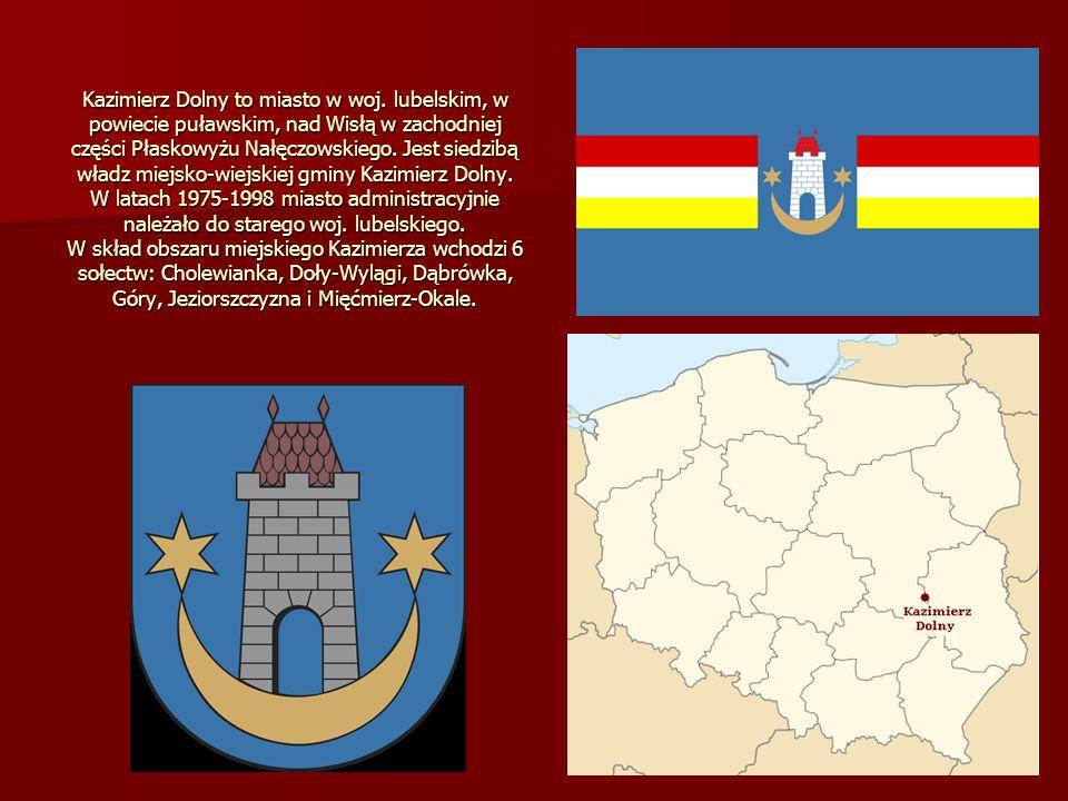 Kazimierz Dolny to miasto w woj