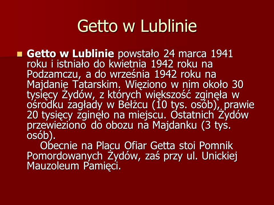 Getto w Lublinie