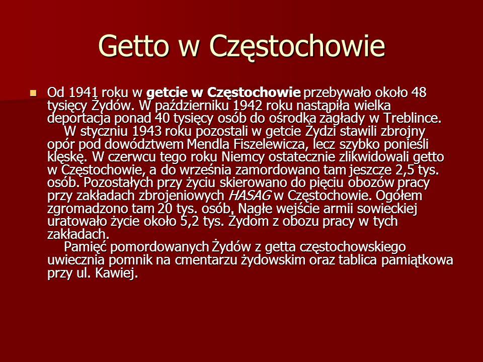 Getto w Częstochowie