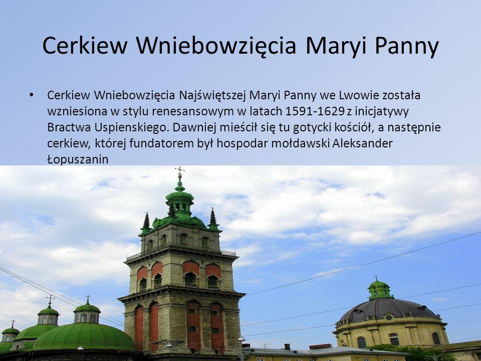 Cerkiew Wniebowzięcia Maryi Panny