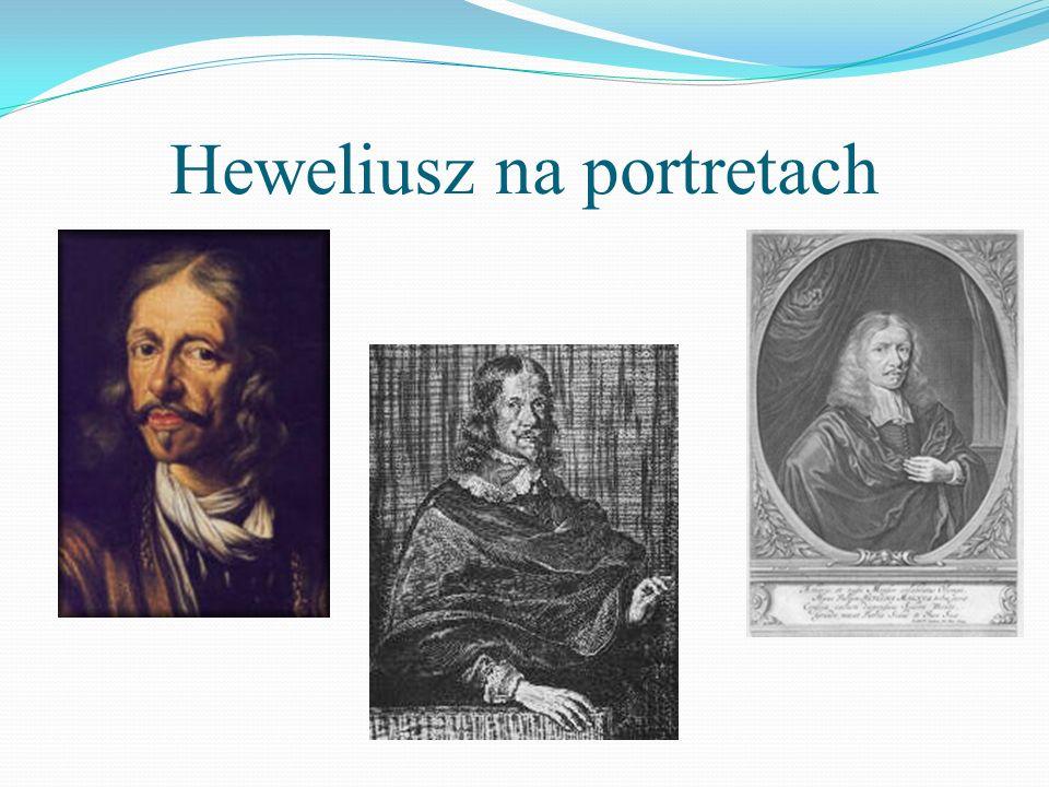 Heweliusz na portretach