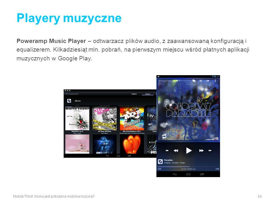 Playery muzyczne Poweramp Music Player – odtwarzacz plików audio, z zaawansowaną konfiguracją i.