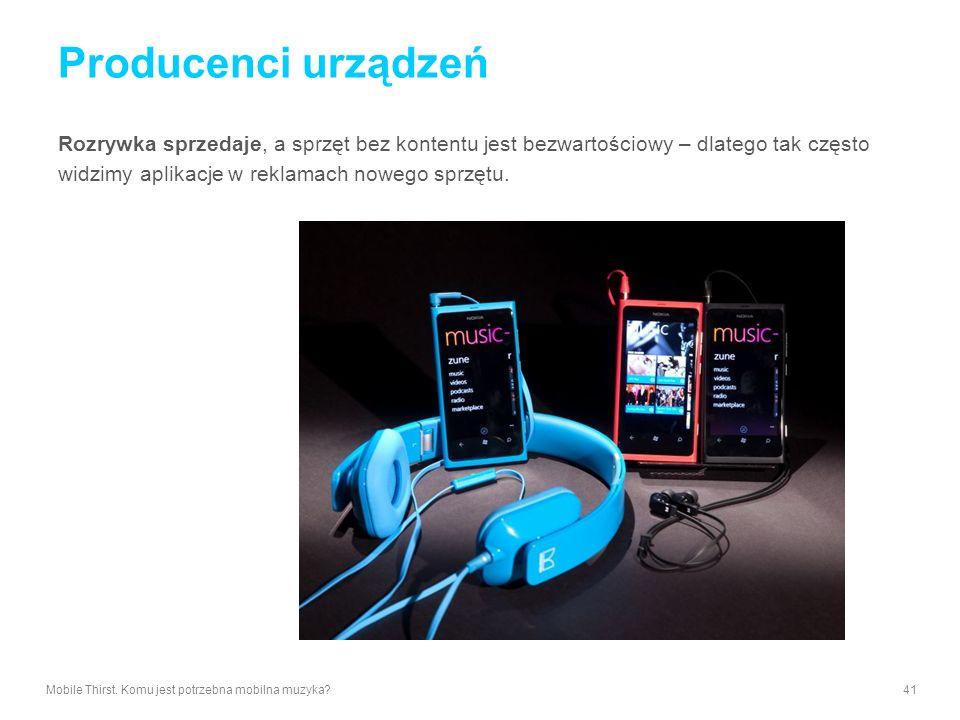 Producenci urządzeń Rozrywka sprzedaje, a sprzęt bez kontentu jest bezwartościowy – dlatego tak często widzimy aplikacje w reklamach nowego sprzętu.