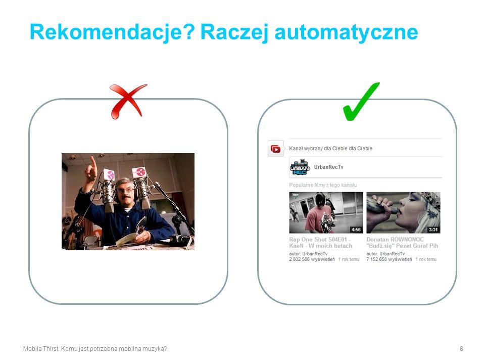 Rekomendacje Raczej automatyczne