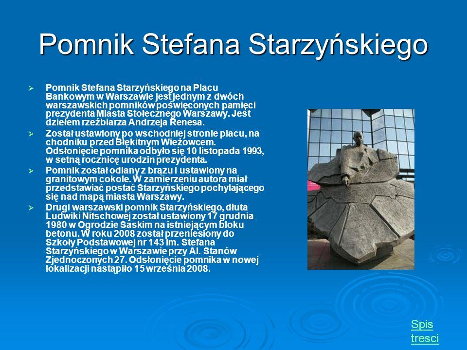 Pomnik Stefana Starzyńskiego
