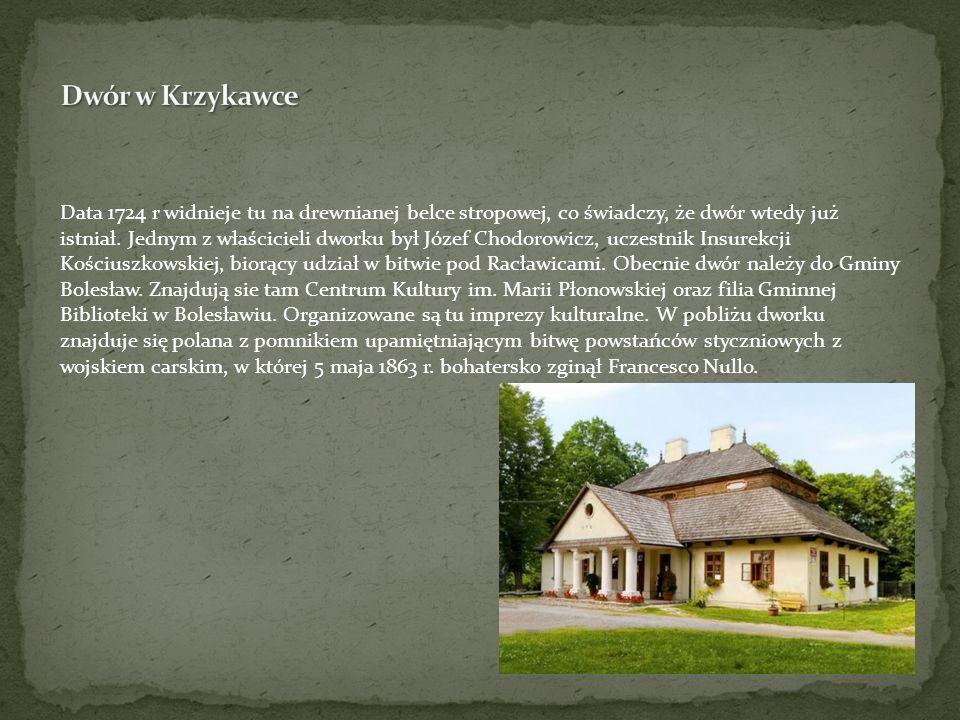 Dwór w Krzykawce