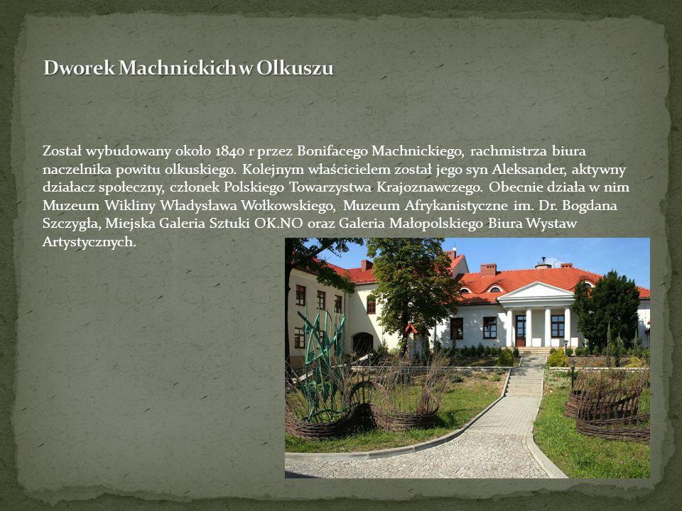 Dworek Machnickich w Olkuszu