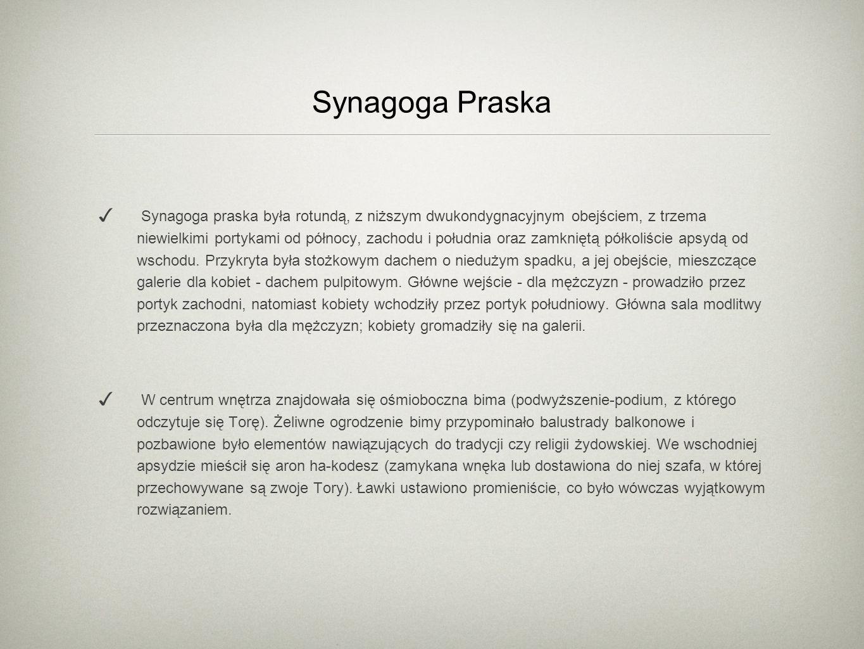 Synagoga Praska