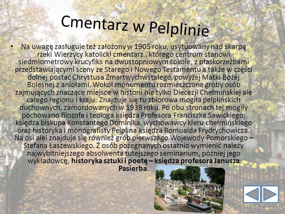 Cmentarz w Pelplinie