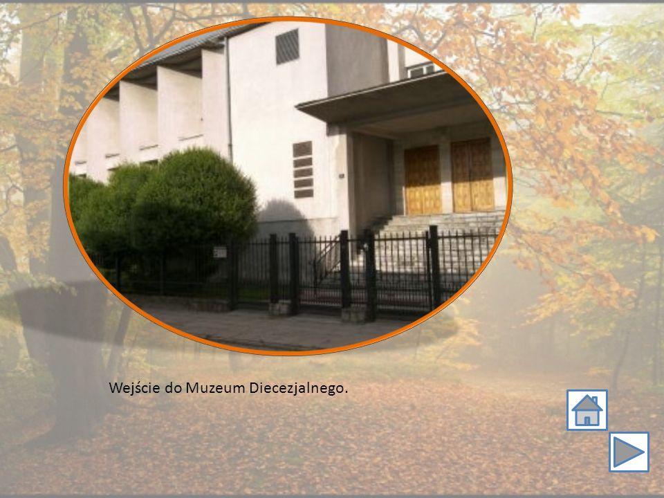 Wejście do Muzeum Diecezjalnego.