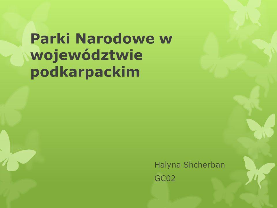 Parki Narodowe w województwie podkarpackim