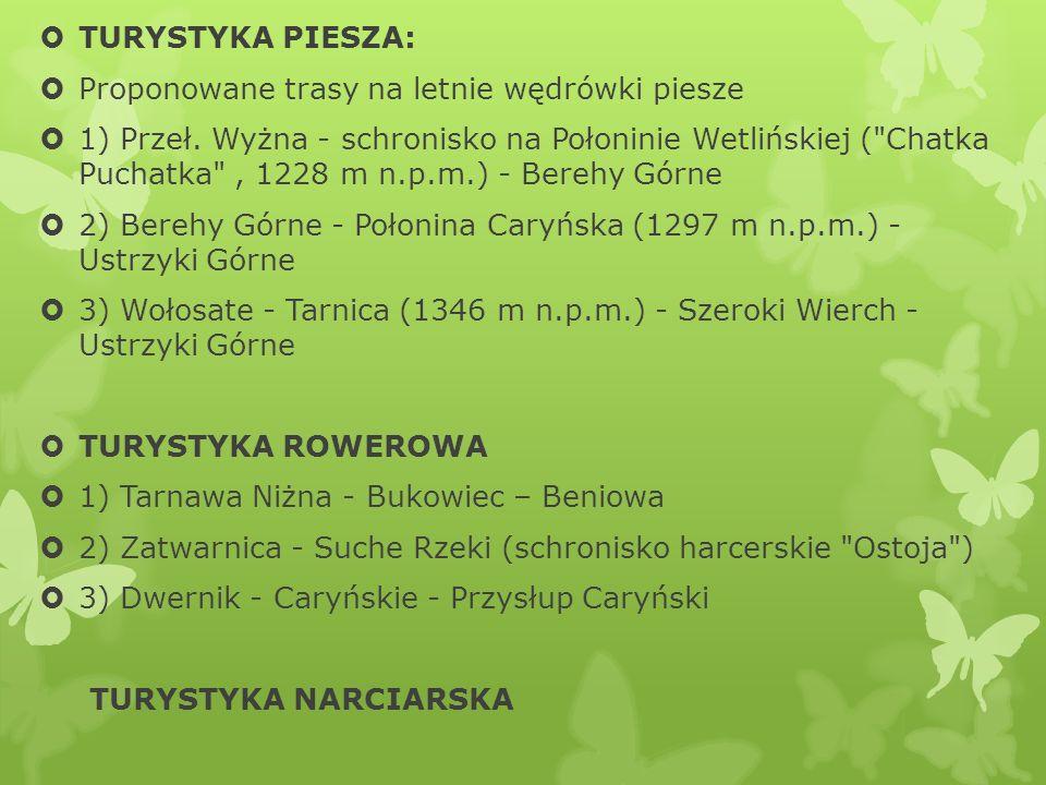 TURYSTYKA PIESZA: Proponowane trasy na letnie wędrówki piesze.
