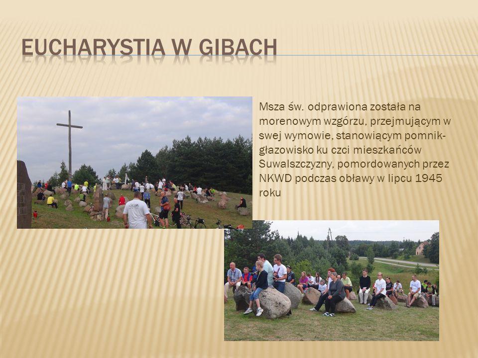 Eucharystia W gibach