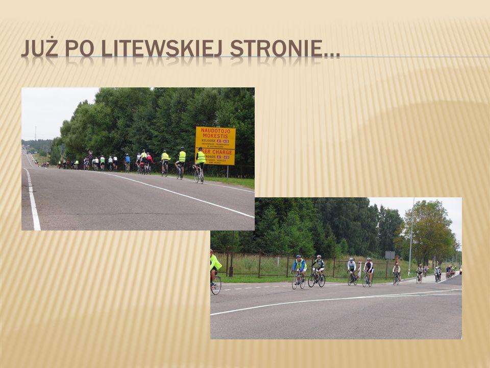 Już po litewskiej stronie…