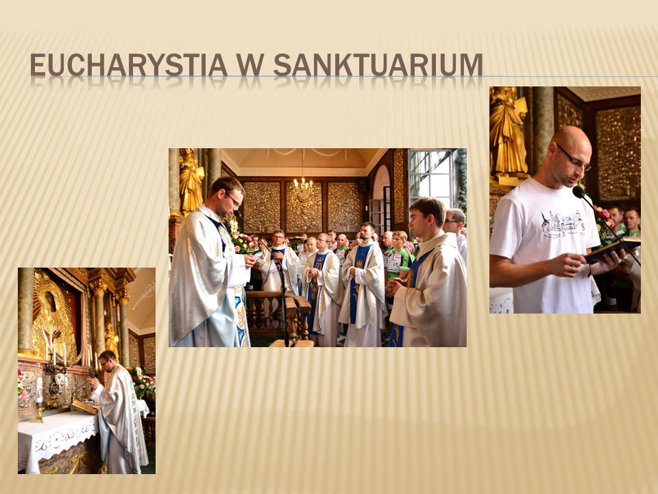 Eucharystia w sanktuarium