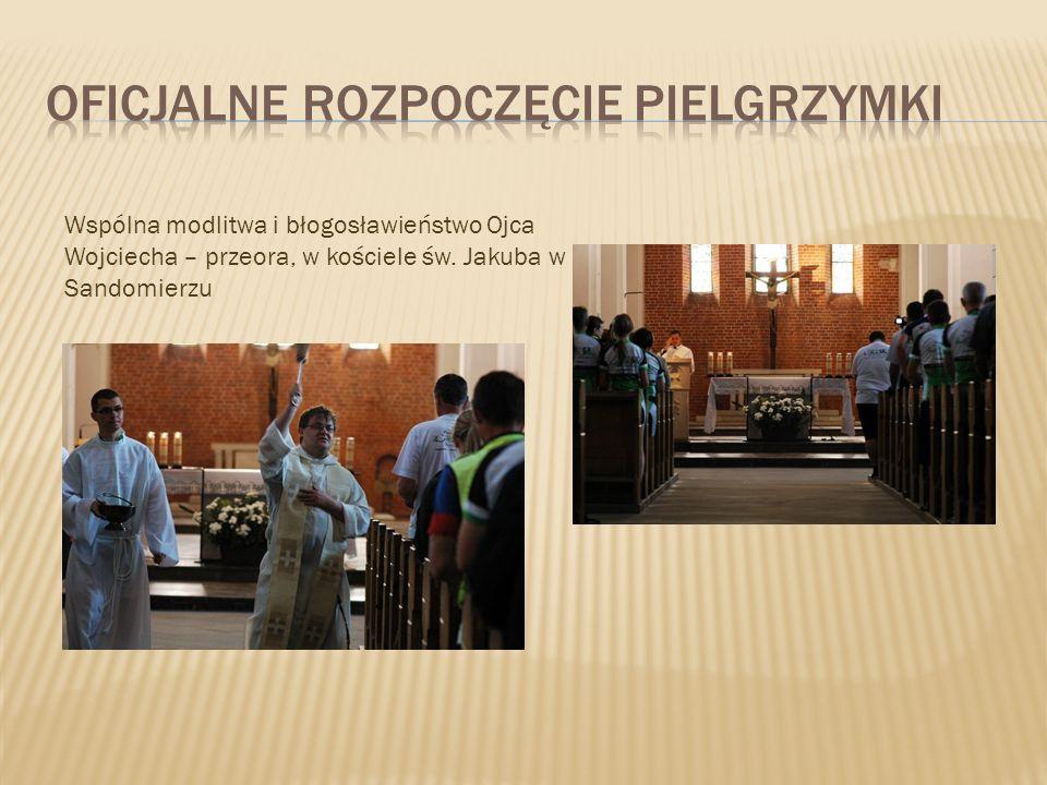 Oficjalne rozpoczęcie pielgrzymki