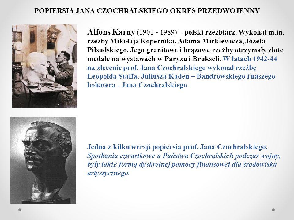 POPIERSIA JANA CZOCHRALSKIEGO OKRES PRZEDWOJENNY