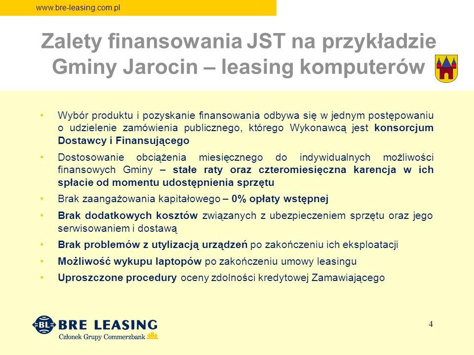Zalety finansowania JST na przykładzie Gminy Jarocin – leasing komputerów
