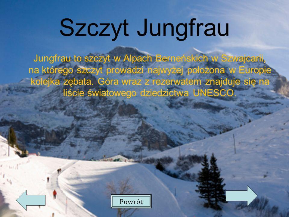 Szczyt Jungfrau