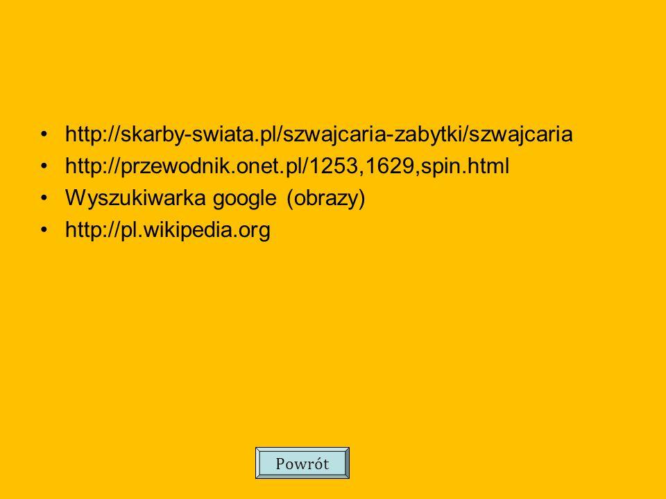 Wyszukiwarka google (obrazy) http://pl.wikipedia.org