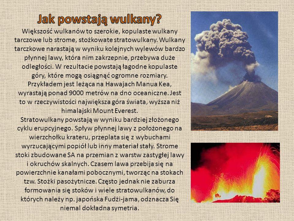 Jak powstają wulkany.