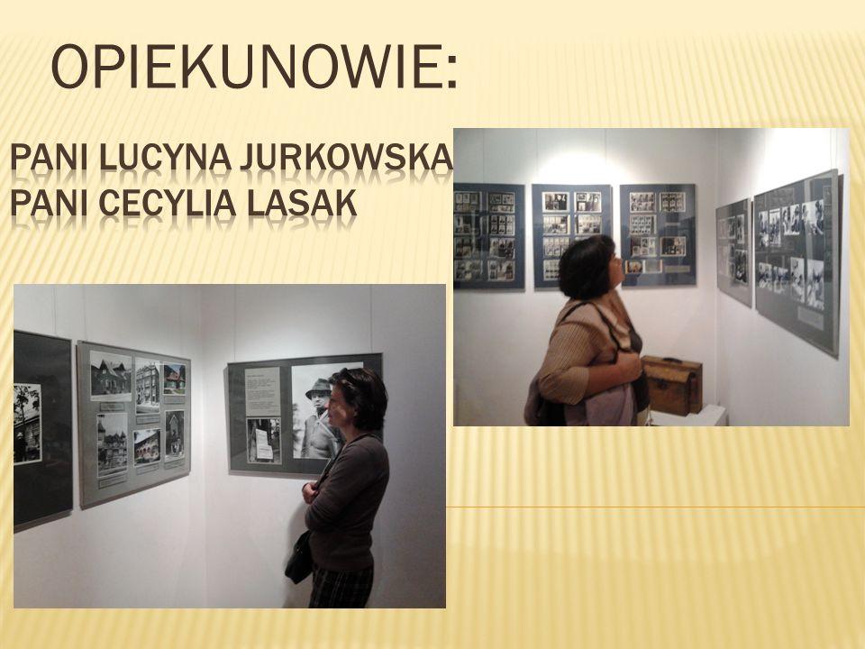 Pani Lucyna Jurkowska Pani Cecylia Lasak