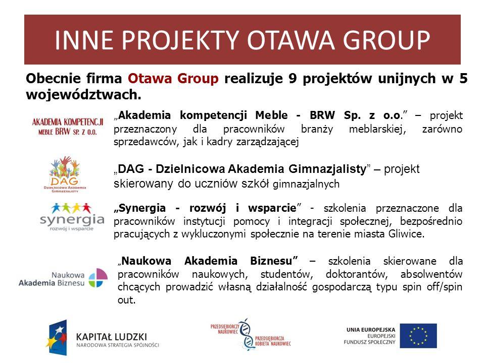 INNE PROJEKTY OTAWA GROUP