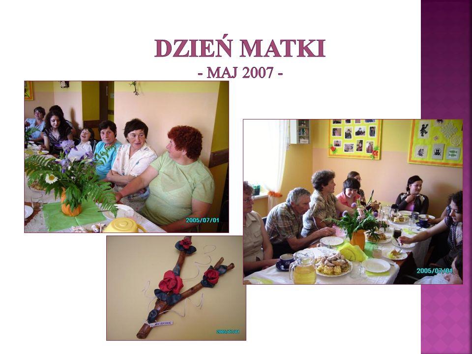 DZIEŃ MATKI - maj 2007 -