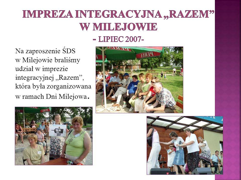 """Impreza integracyjna """"Razem w Milejowie - lipiec 2007-"""