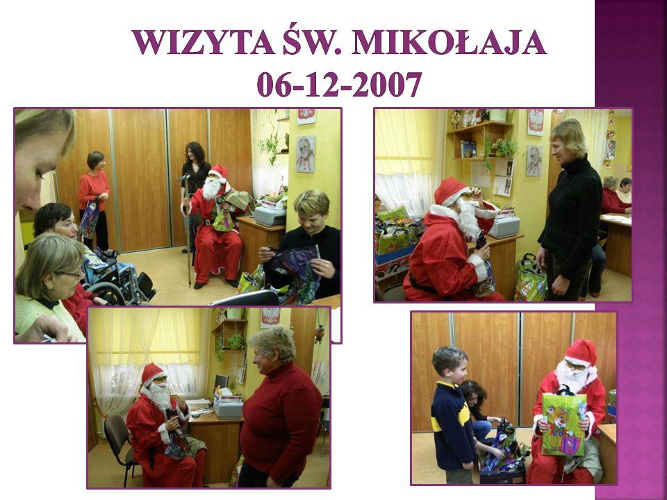 Wizyta Św. Mikołaja 06-12-2007
