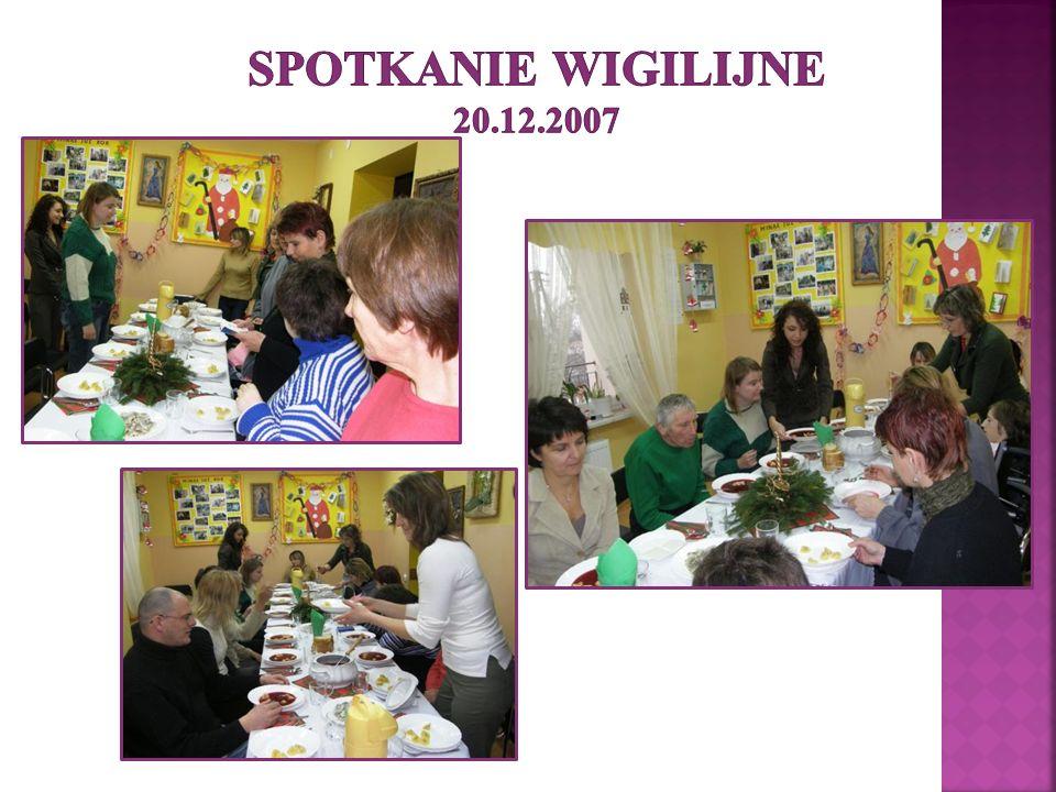 Spotkanie wigilijne 20.12.2007