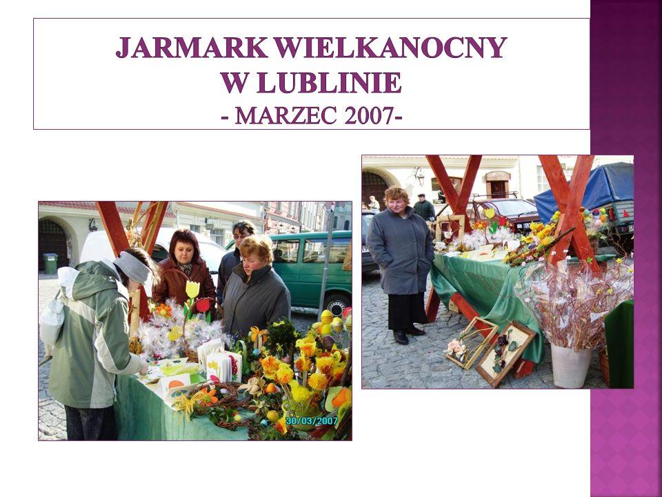Jarmark Wielkanocny w Lublinie - marzec 2007-
