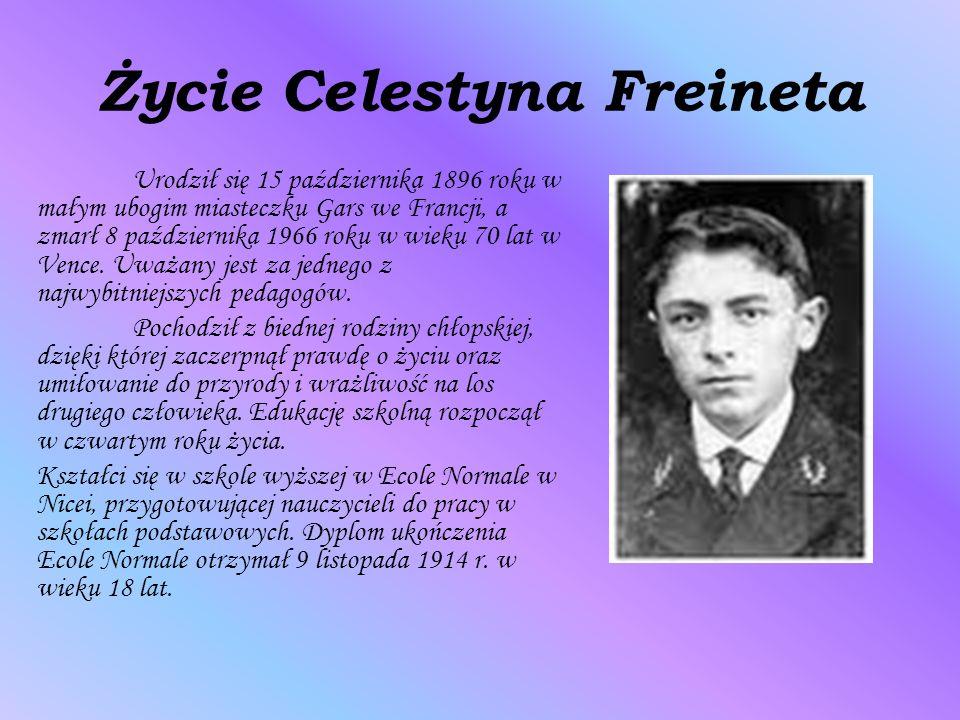 Życie Celestyna Freineta