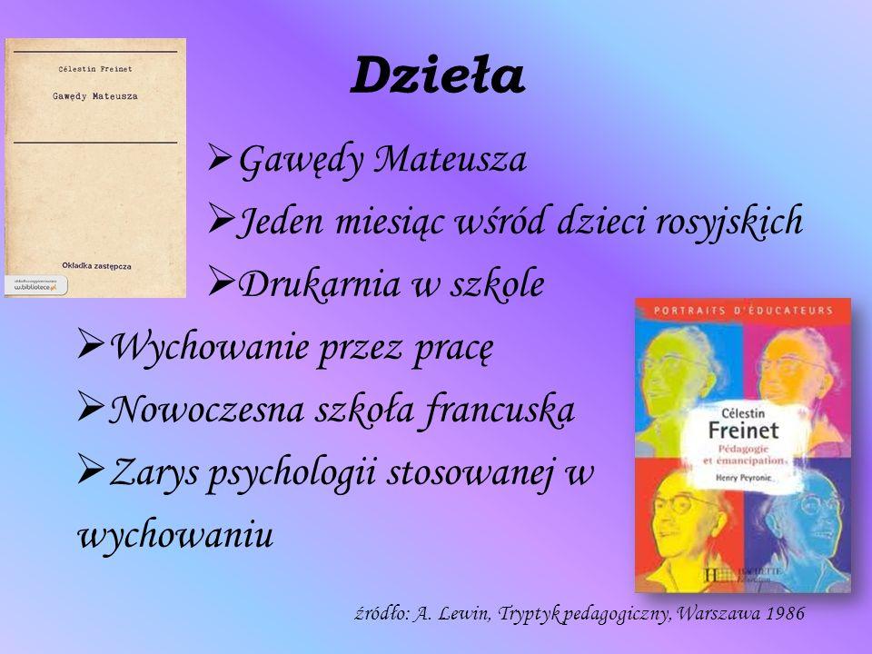 Dzieła Jeden miesiąc wśród dzieci rosyjskich Drukarnia w szkole