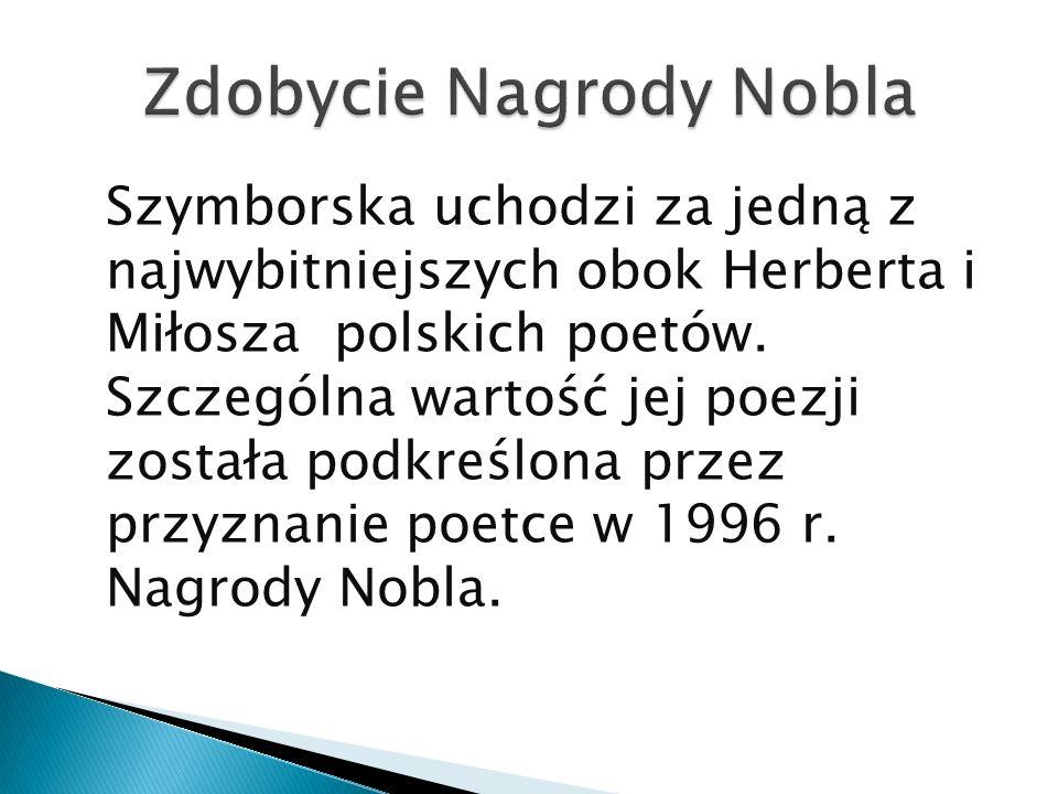 Zdobycie Nagrody Nobla