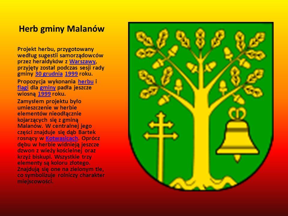 Herb gminy Malanów