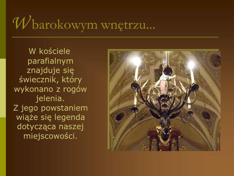W barokowym wnętrzu...