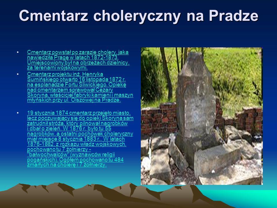 Cmentarz choleryczny na Pradze