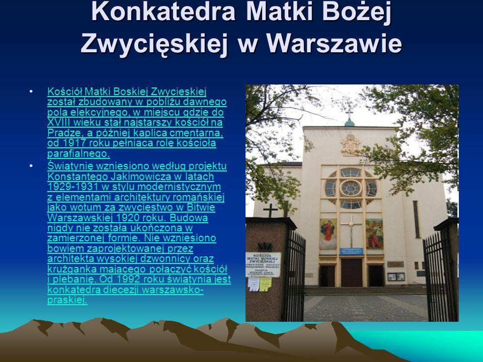 Konkatedra Matki Bożej Zwycięskiej w Warszawie