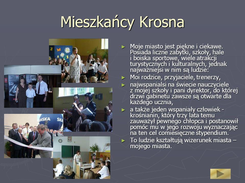 Mieszkańcy Krosna